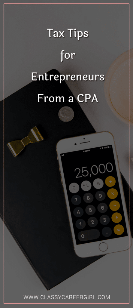 Tax Tips for Entrepreneurs From a CPA (1)
