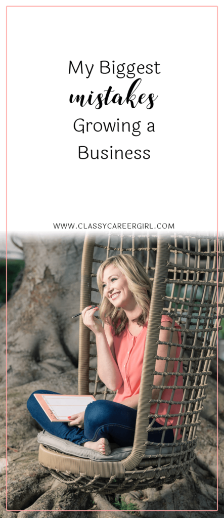 My Biggest Mistakes Growing a Business