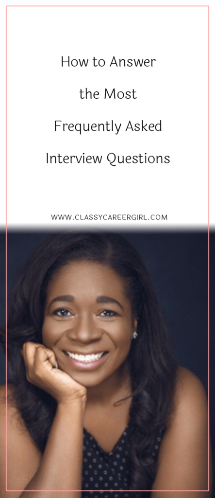 How to Answer the Most Frequently Asked Interview Questions (1)