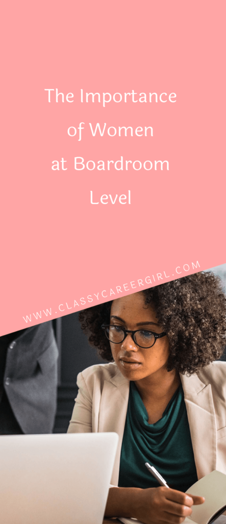 The Importance of Women at Boardroom Level (1)