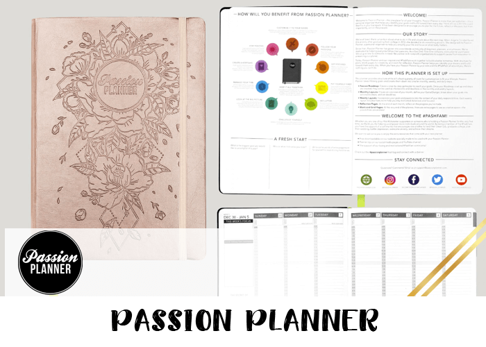 2019 Planner - Passion Planner
