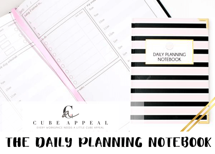 2019 planner - Cube Daily Planning Notebook (1)