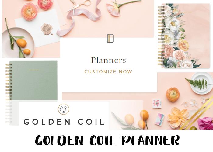 2019 planner - Golden Coil