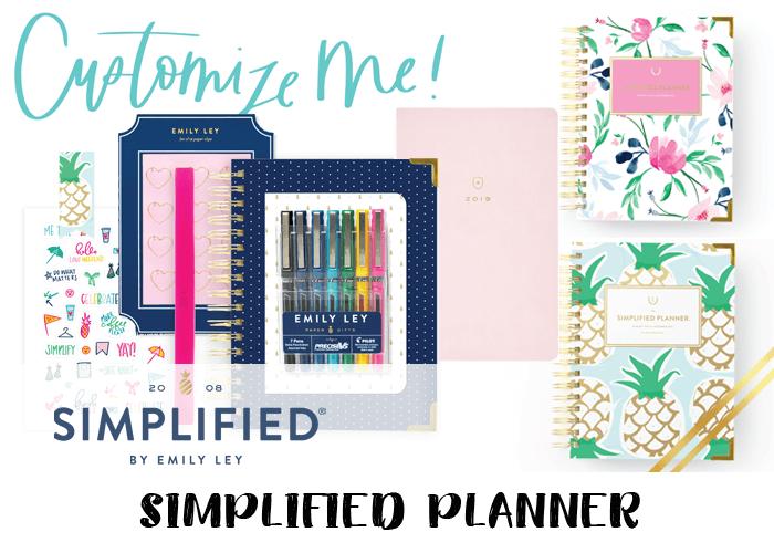 2019 planner - Simplified Planner