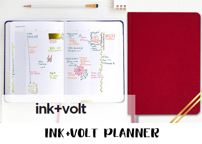 2019 planner - ink and volt