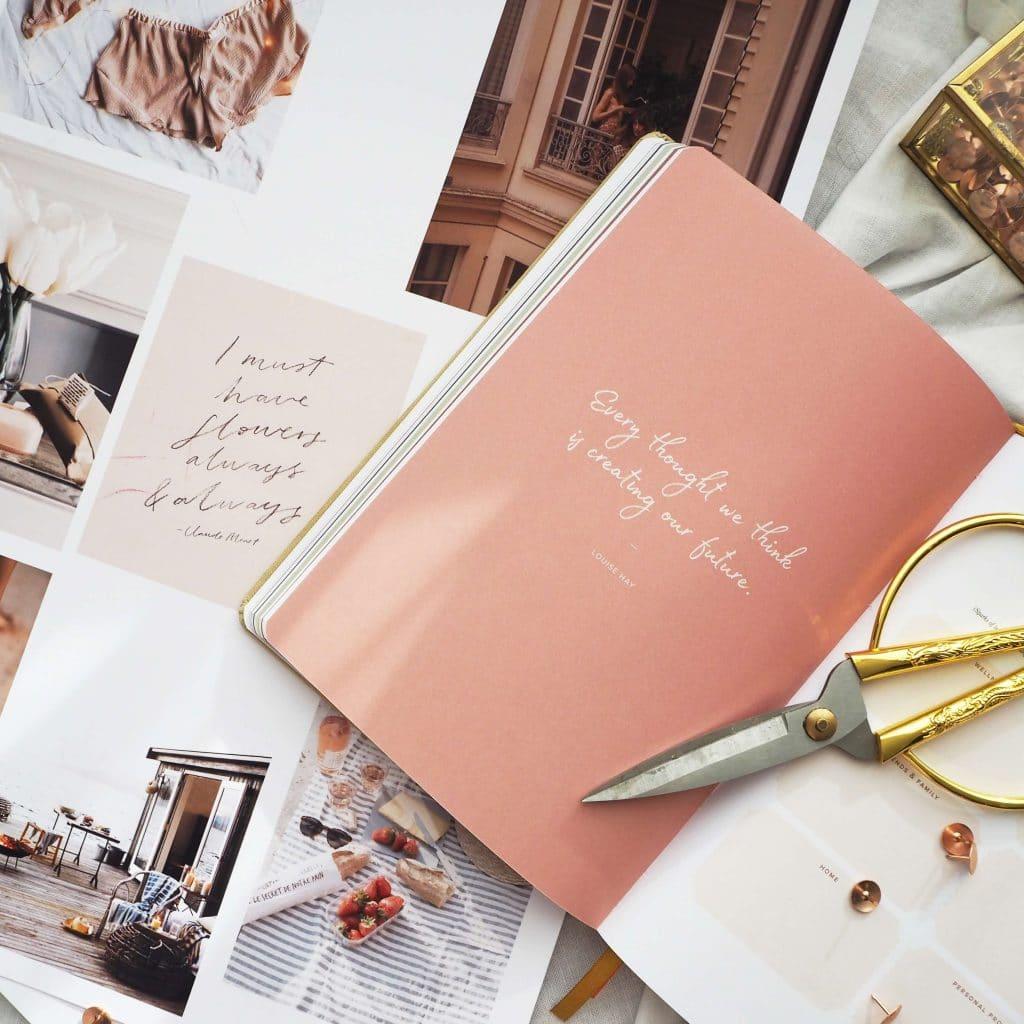 Ponderlily Planner in pink