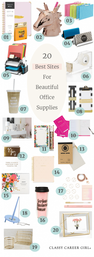 20 Best Sites for office supplies Pin photo (1)