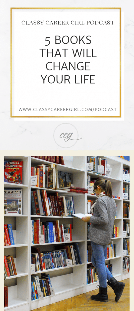 5 Books That Will Change Your Life podcast Pin Photo