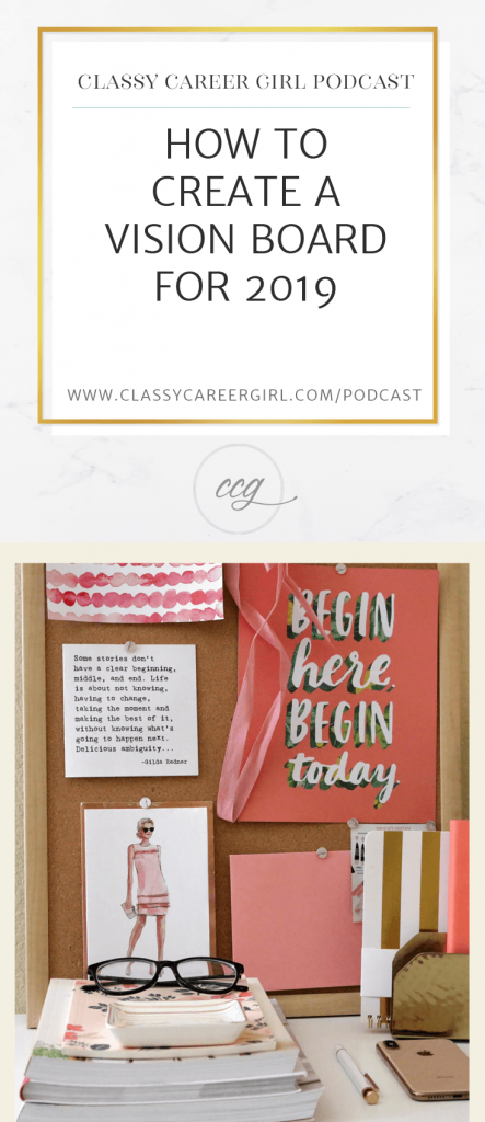How to Create a Vision Board For 2019 Pin Photo (1)