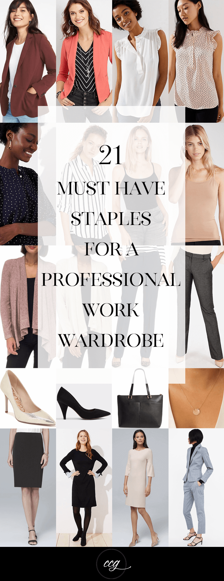 b3207a57af8 21 Must Have Staples For a Professional Wardrobe - Classy Career Girl