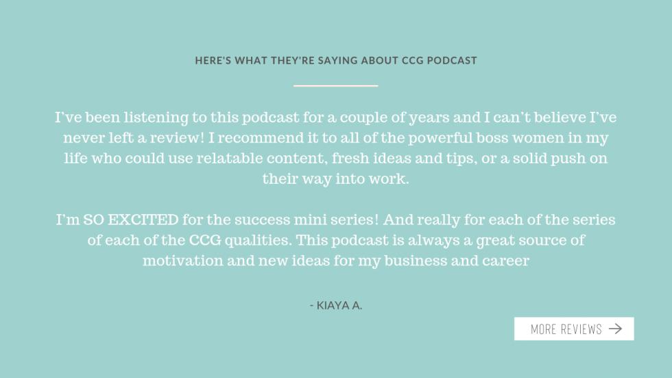 Podcast testimonial 1