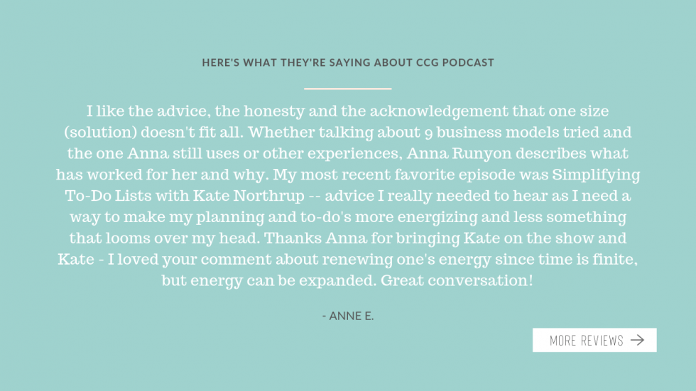 Podcast testimonial 2