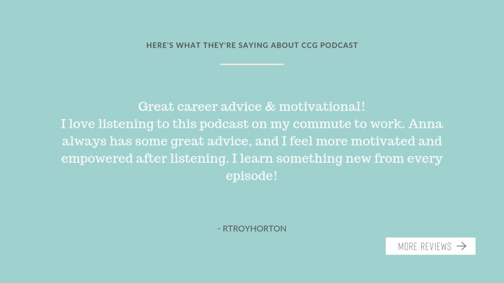 Podcast testimonial 3