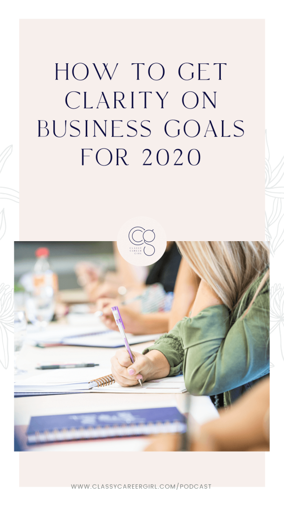 How to Get Clarity on Business Goals For 2020 IG Story