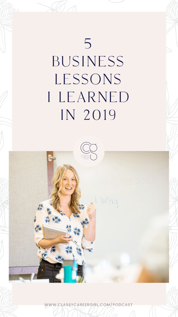 5 Business Lessons I Learned in 2019 IG Story