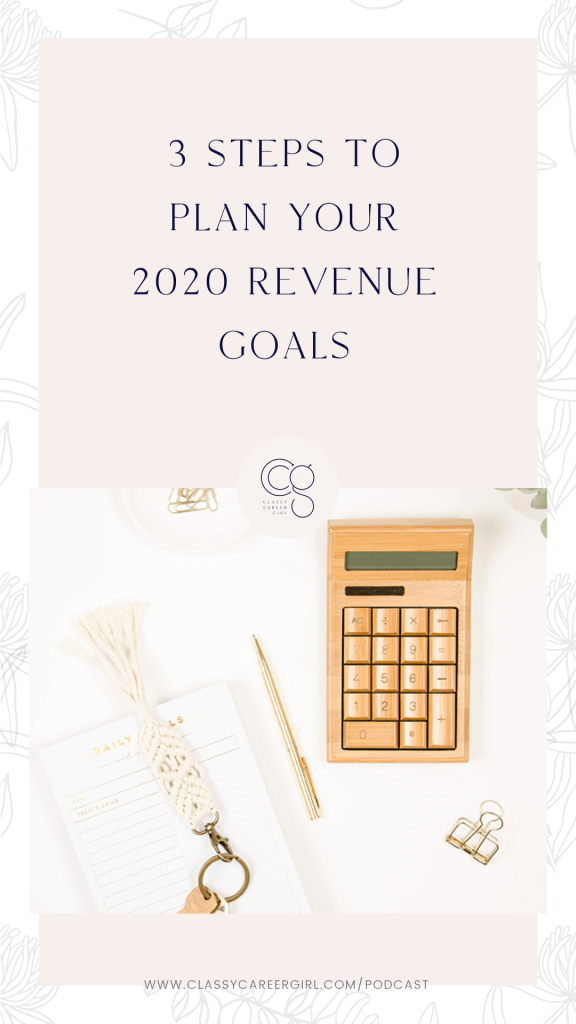 3 Steps To Plan Your 2020 Revenue Goals IG