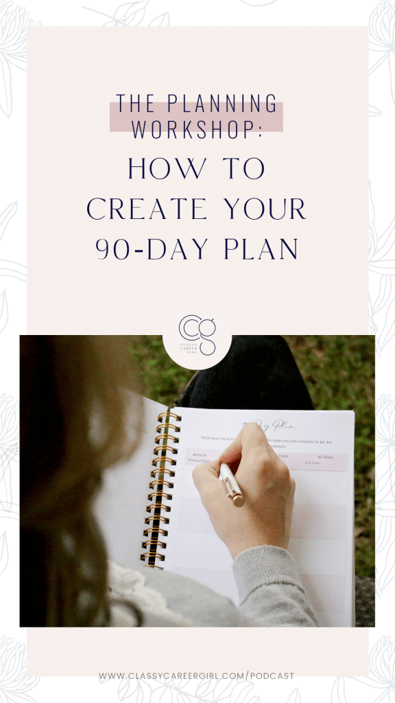 How to Create Your 90-Day Plan IG Story