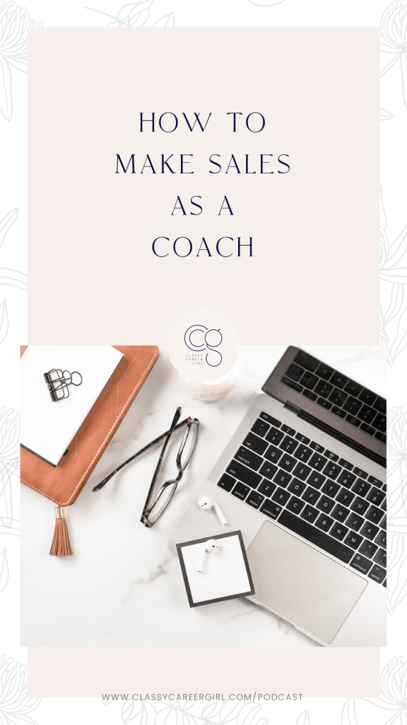 How to Make Sales as a Coach pin