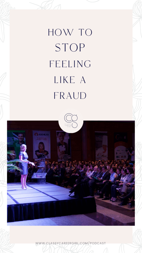 How to Stop Feeling Like a Fraud pin