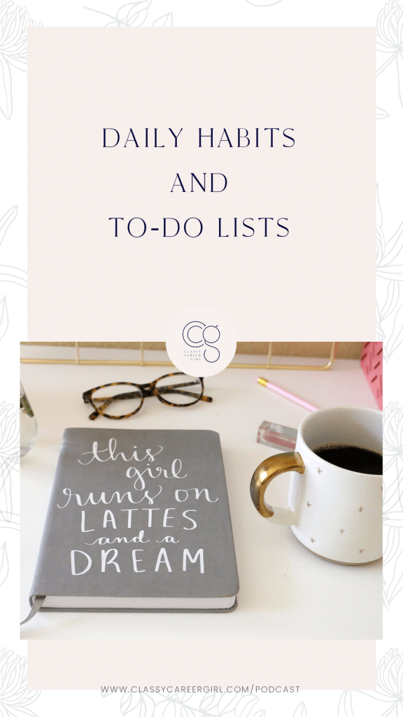 Daily Habits and To-Do Lists Pin Image