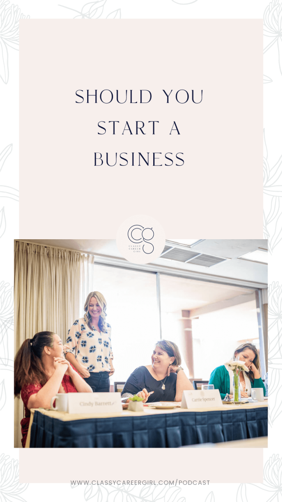 Should You Start A Business with Anna Runyan
