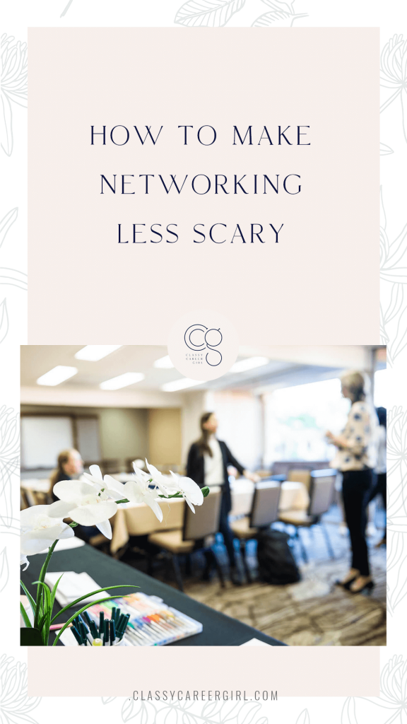 How To Make Networking Less ScaryHow To Make Networking Less Scary PIn Image