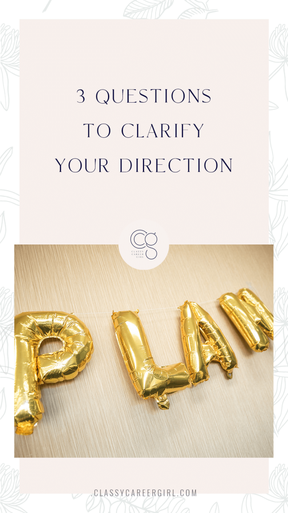 3 Questions to Clarify Your Direction + 2021 Planning Workshop Announcement