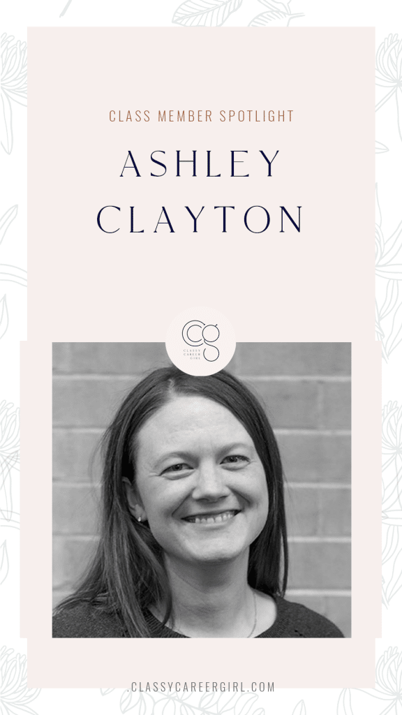 CLASS Member Spotligt - Ashley Clayton (1)