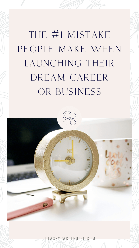 CCG Podcast - The #1 Mistake People Make When Launching Their Dream Career or Business