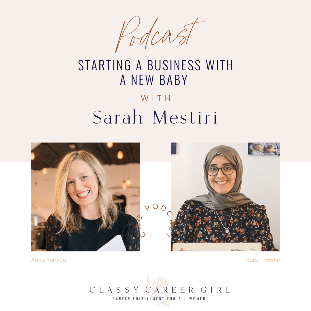 Starting a Business With a New Baby with Sarah Mestiri