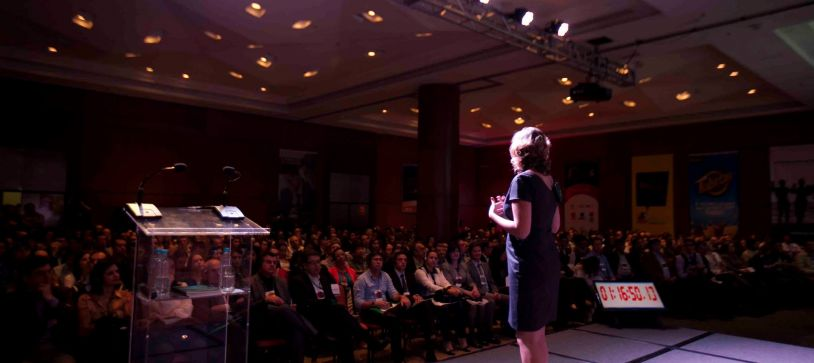 The Beginner's Guide to Getting Booked at Speaking Events