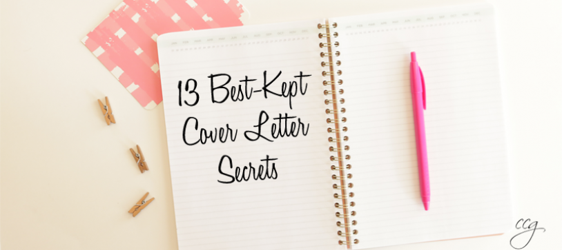 The 13 Best-Kept Cover Letter Secrets