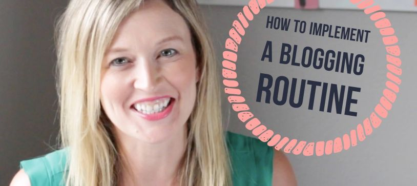 How to Implement a Blogging Routine With a Busy Schedule